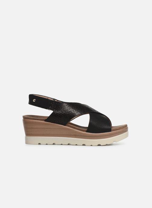 Sandales et nu-pieds Xti 47938 Noir vue derrière