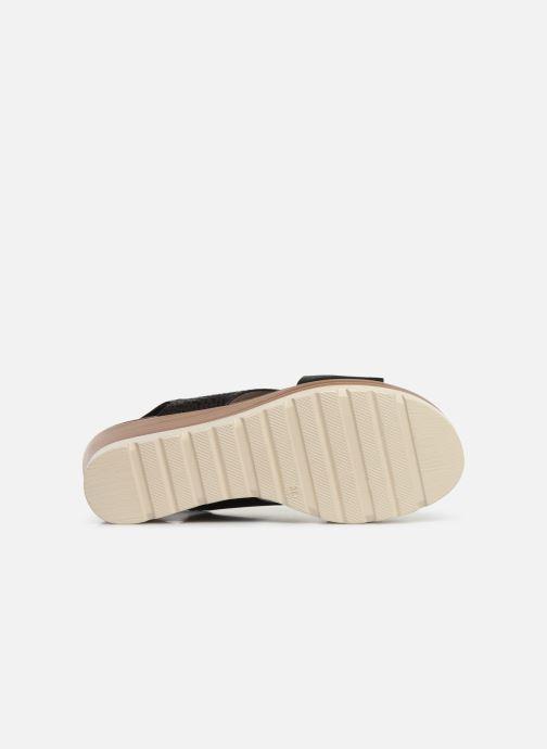 Sandales et nu-pieds Xti 47938 Noir vue haut