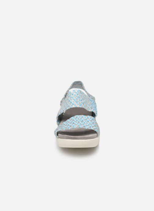 Sandales et nu-pieds Xti 48087 Bleu vue portées chaussures