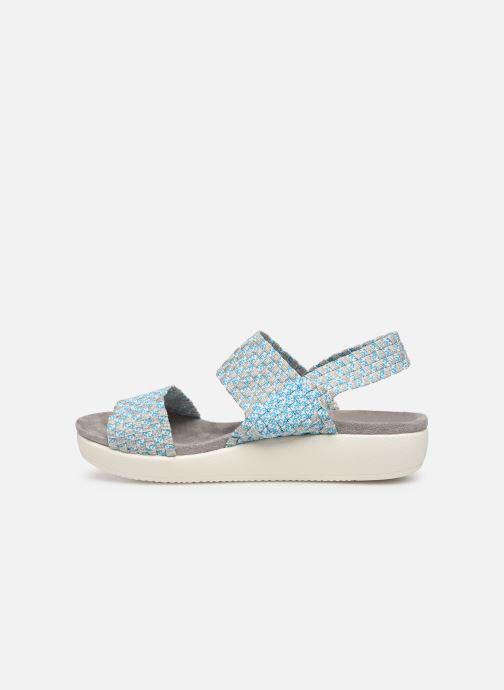 Sandales et nu-pieds Xti 48087 Bleu vue face