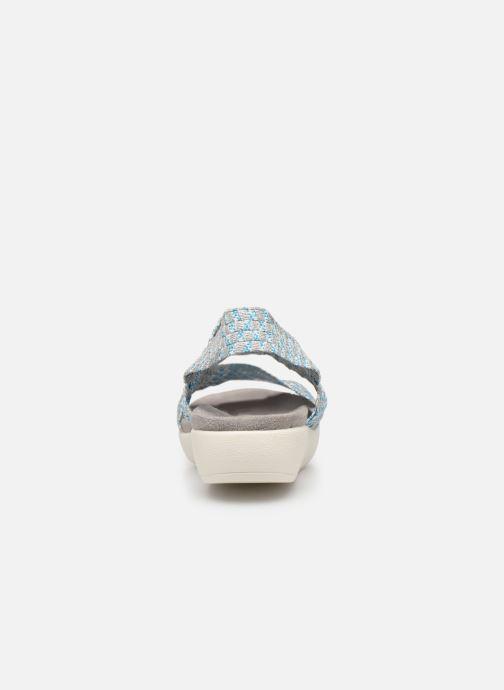 Sandales et nu-pieds Xti 48087 Bleu vue droite