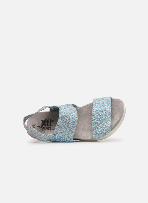 Sandales et nu-pieds Xti 48087 Bleu vue gauche
