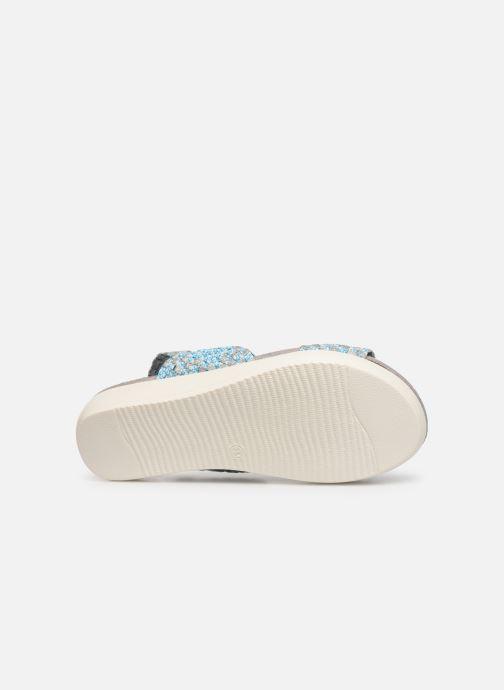 Sandales et nu-pieds Xti 48087 Bleu vue haut
