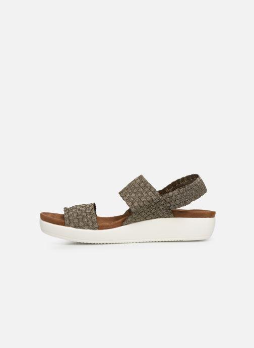 Sandales et nu-pieds Xti 48087 Marron vue face