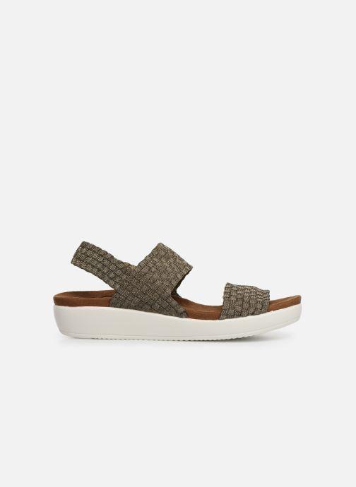 Sandales et nu-pieds Xti 48087 Marron vue derrière
