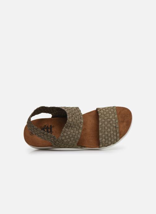 Sandales et nu-pieds Xti 48087 Marron vue gauche