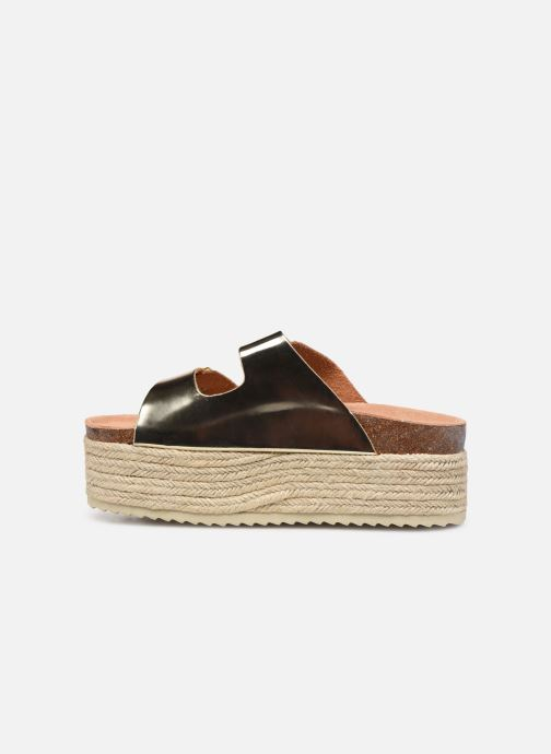 Espadrilles Xti 48119 Bronze and Gold front view