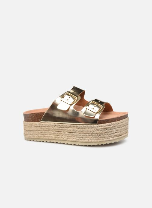 Espadrilles Xti 48119 Bronze and Gold back view