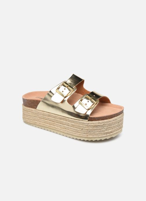 Espadrilles Xti 48119 Bronze and Gold detailed view/ Pair view