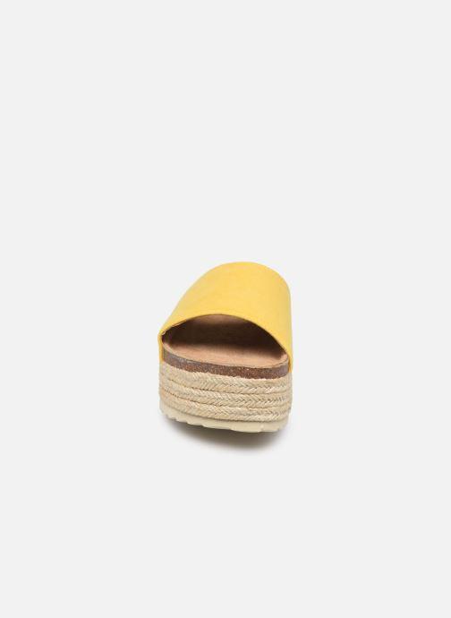 Espadrilles Xti 48120 Jaune vue portées chaussures