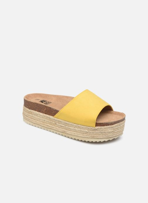 Espadrilles Xti 48120 Yellow detailed view/ Pair view