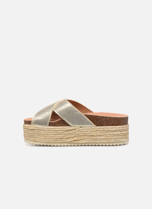 Espadrilles Xti 48122 Bronze and Gold front view
