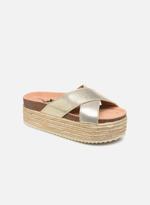 Espadrilles Xti 48122 Bronze and Gold detailed view/ Pair view