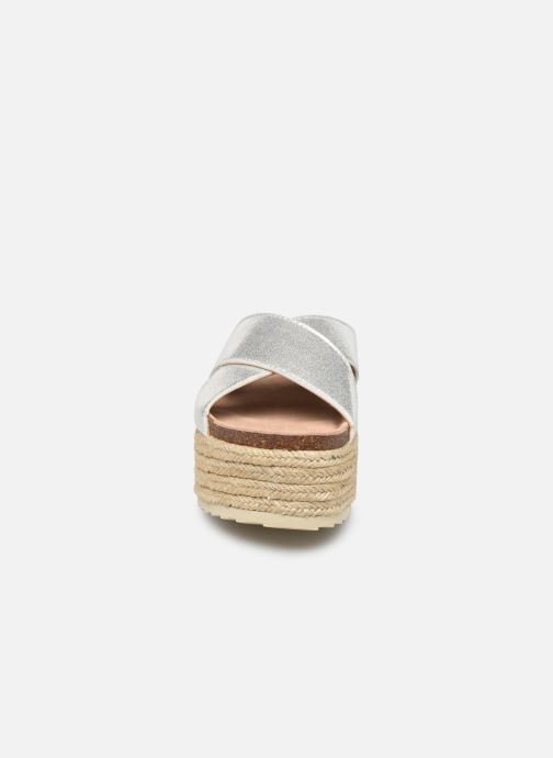 Espadrilles Xti 48122 Argent vue portées chaussures