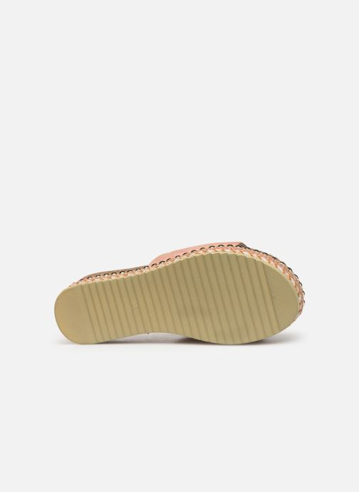 Espadrilles Xti 64348 Pink view from above