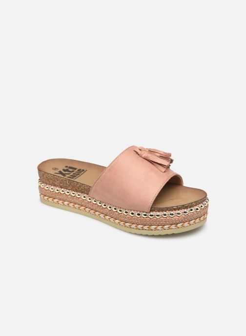 Espadrilles Xti 64348 Pink detailed view/ Pair view