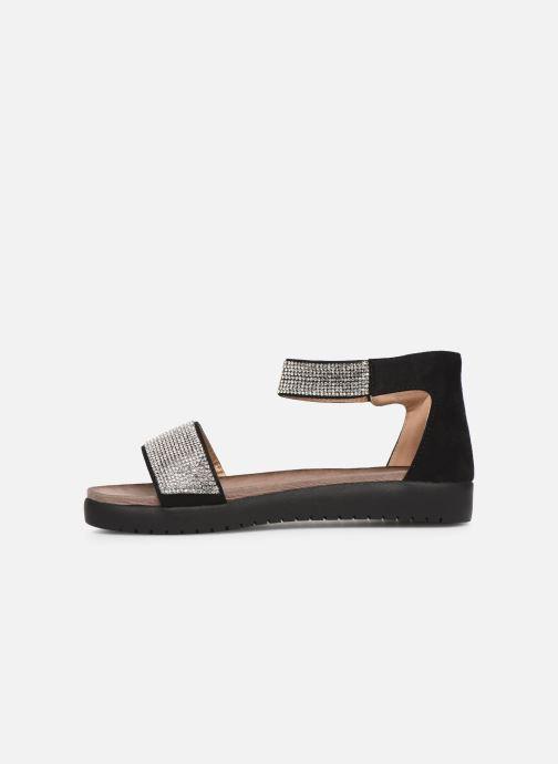 Sandals Xti 64441 Black front view