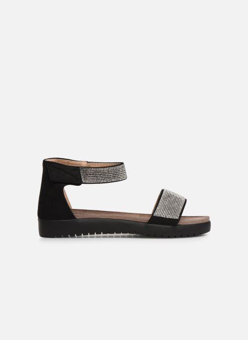 Sandales et nu-pieds Xti 64441 Noir vue derrière