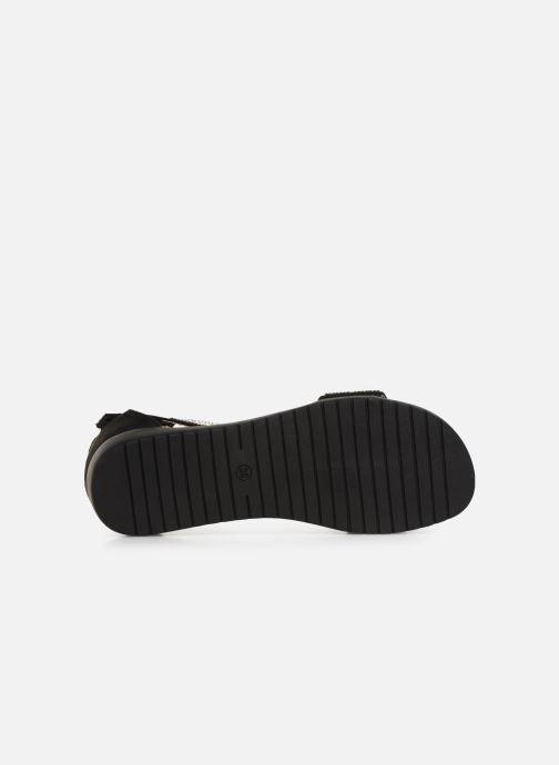 Sandales et nu-pieds Xti 64441 Noir vue haut
