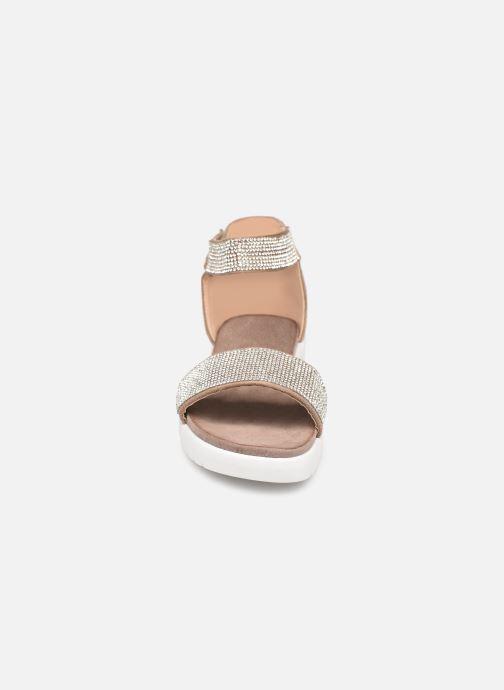 Sandales et nu-pieds Xti 64441 Gris vue portées chaussures