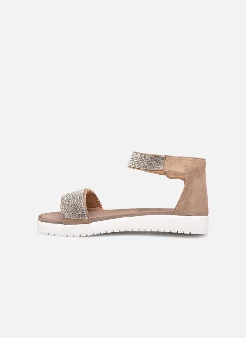 Sandales et nu-pieds Xti 64441 Gris vue face