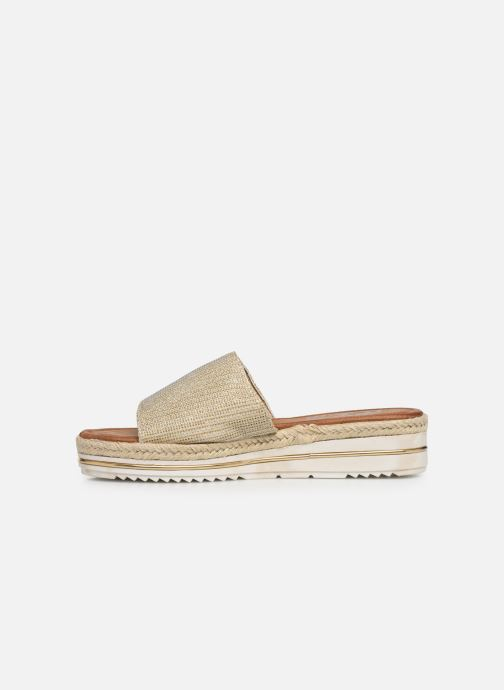 Espadrilles Xti 64449 Bronze and Gold front view