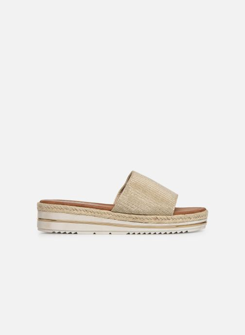 Espadrilles Xti 64449 Bronze and Gold back view