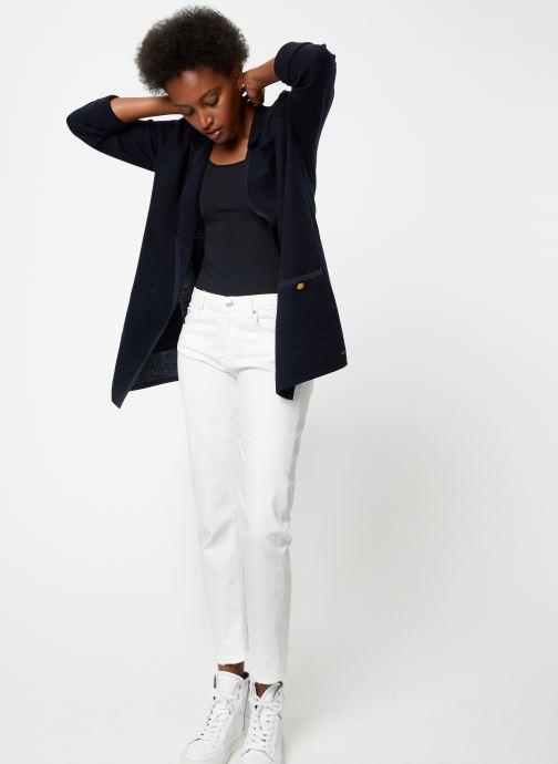 Vêtements Maison Scotch Knitted nautical blazer Bleu vue bas / vue portée sac