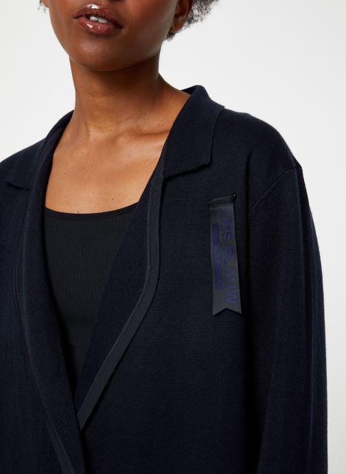 Vêtements Maison Scotch Knitted nautical blazer Bleu vue face