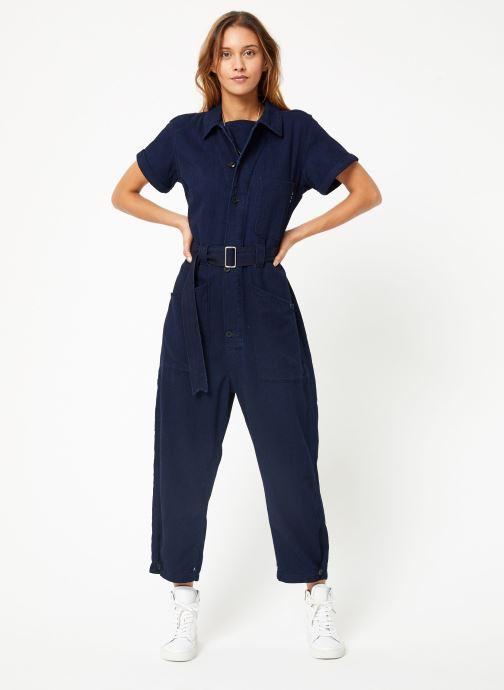 Vêtements Maison Scotch Lightweight indigo all - in - one Bleu vue bas / vue portée sac