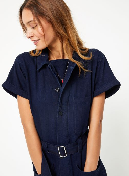 Vêtements Maison Scotch Lightweight indigo all - in - one Bleu vue droite
