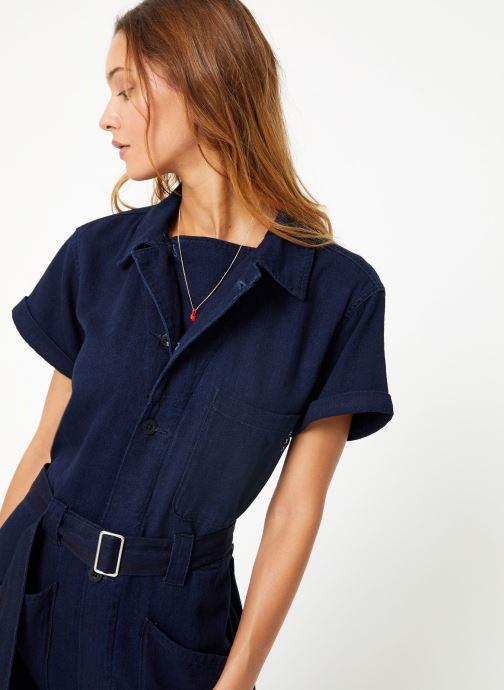 Vêtements Maison Scotch Lightweight indigo all - in - one Bleu vue détail/paire