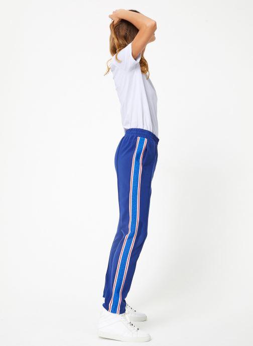 Vêtements Maison Scotch Colorful sweat pants with sporty ribs on the side Bleu vue bas / vue portée sac