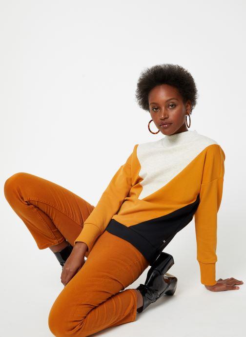 Vêtements Maison Scotch Color block sweat Noir vue bas / vue portée sac