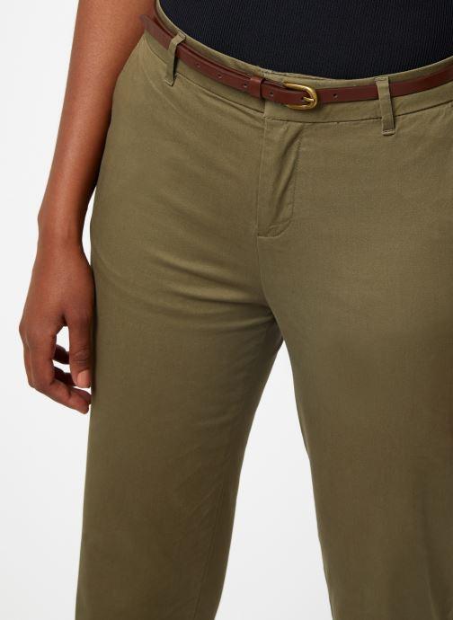 Vêtements Scotch & Soda Regular fit Ams Blauw chino with giveaway belt Vert vue face
