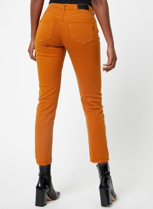 Vêtements Maison Scotch The Keeper - Colors Orange vue portées chaussures