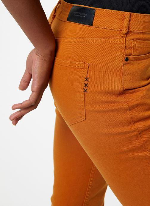 Vêtements Maison Scotch The Keeper - Colors Orange vue face