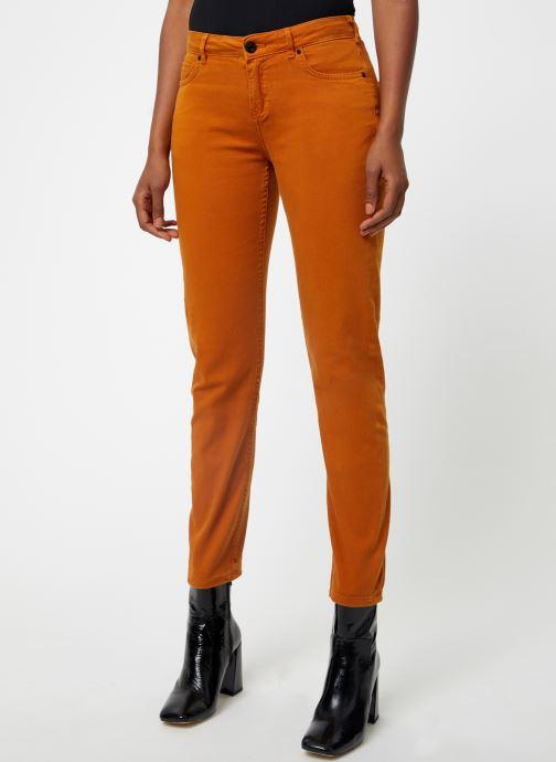 Vêtements Maison Scotch The Keeper - Colors Orange vue détail/paire