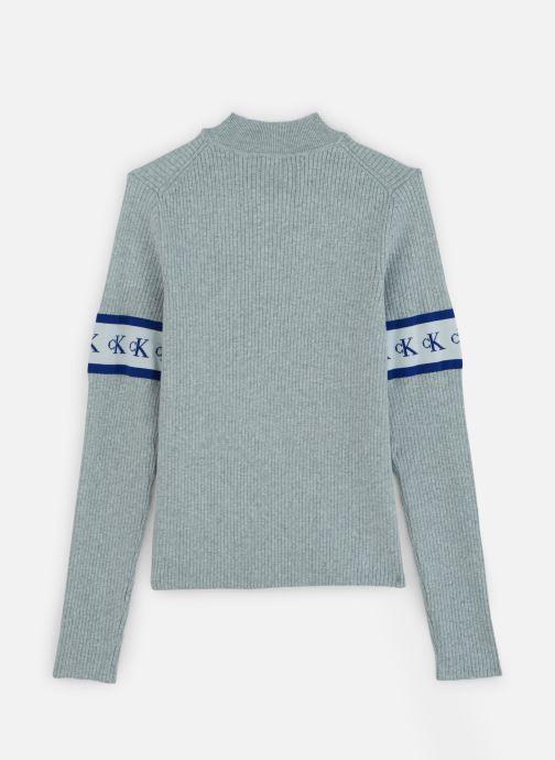 Kleding Calvin Klein Jeans MONOGRAM TAPE SWEATER Grijs onder