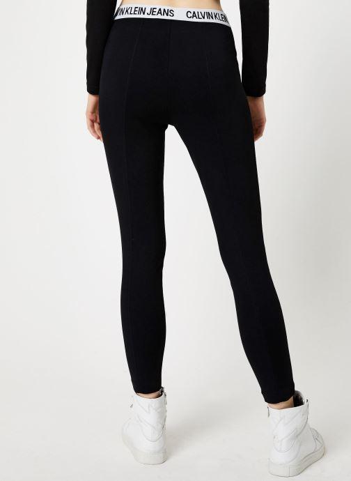 Kleding Calvin Klein Jeans MILANO LEGGINGS Zwart model