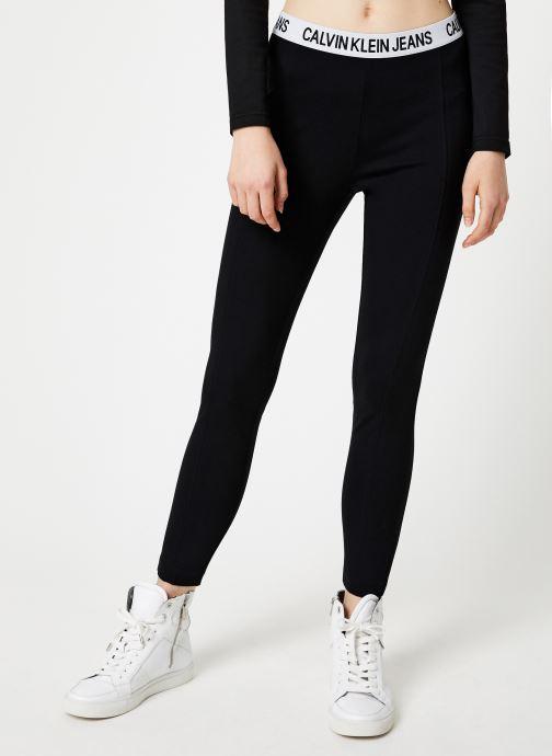 Kleding Calvin Klein Jeans MILANO LEGGINGS Zwart detail