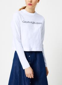 T-shirt - INSTITUTIONAL LOGO LS CROP TEE