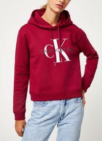 Sweatshirt hoodie - MONOGRAM BOXY HOODIE