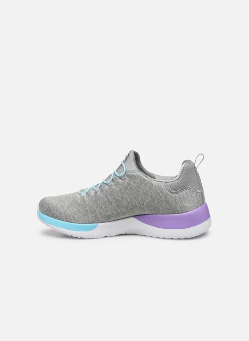 Sport shoes Skechers Dynamight-Break-Through Grey front view
