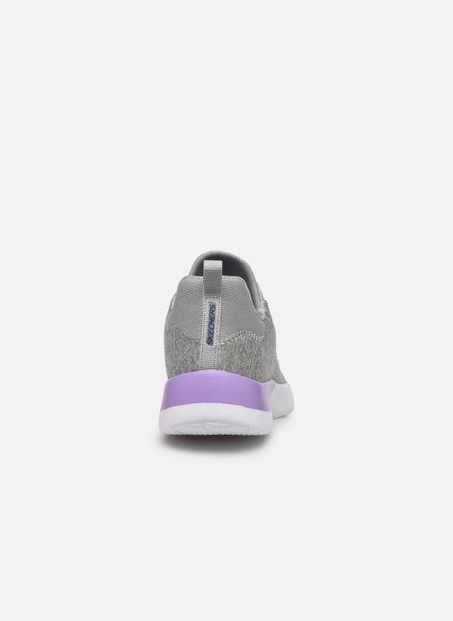 Chaussures de sport Skechers Dynamight-Break-Through Gris vue droite