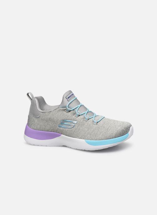 Sport shoes Skechers Dynamight-Break-Through Grey back view