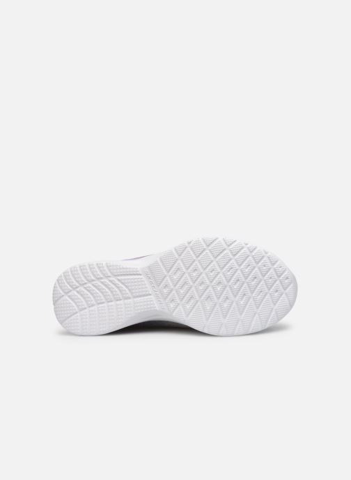Sport shoes Skechers Dynamight-Break-Through Grey view from above
