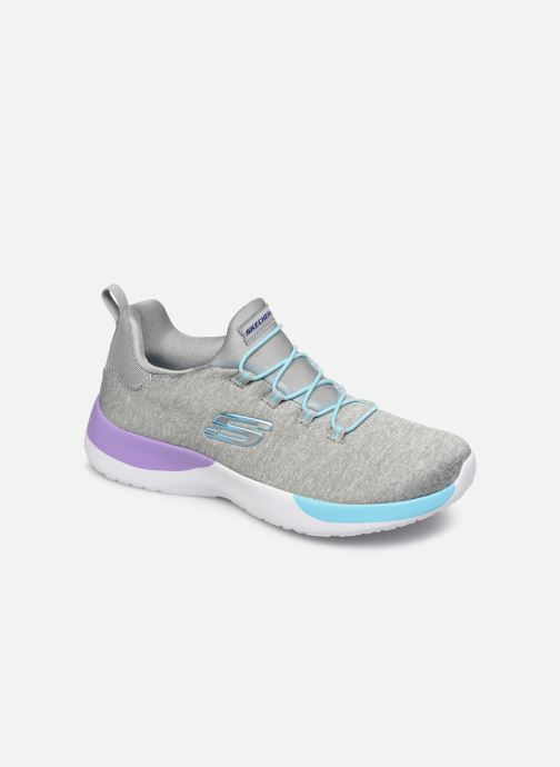 Sport shoes Skechers Dynamight-Break-Through Grey detailed view/ Pair view