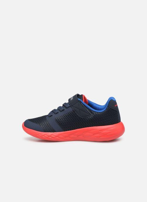 Zapatillas de deporte Skechers Go Run 600- Roxlo Azul vista de frente