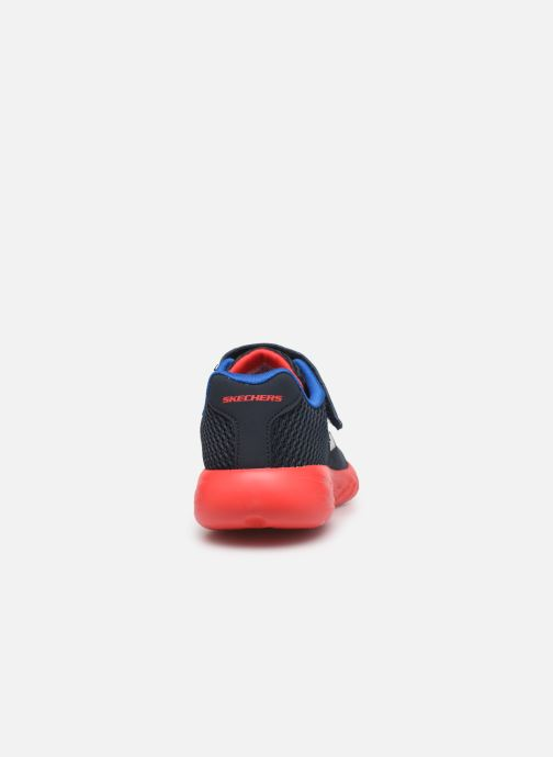 Zapatillas de deporte Skechers Go Run 600- Roxlo Azul vista lateral derecha